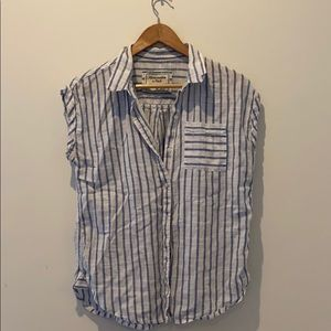 Abercrombie and Fitch short sleeve button down
